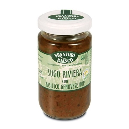 The SAUCE RIVIERA with DOP GENOESE BASIL