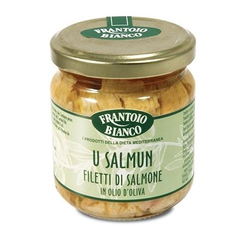 Filetti Salmone Olio Oliva