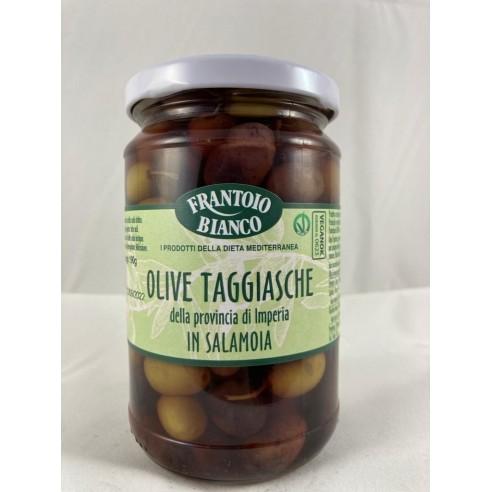 Olive taggiasche della Provincia di Imperia salamoia