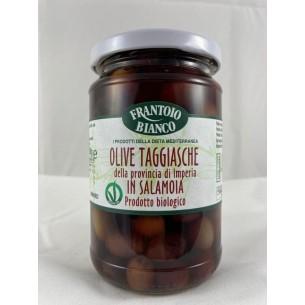 Olive Taggiasche della Provicnia di Imperia in salamoia BIO
